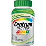 Centrum Silver Adult Multivitamin/Multimineral Supplement Tablet, Vitamin D3, Age 50+ (220 Count)