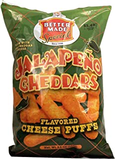 product image for Better Made Special jalapeno cheddars flavored cheese puffs 8.5 oz Bag (pack of 1)