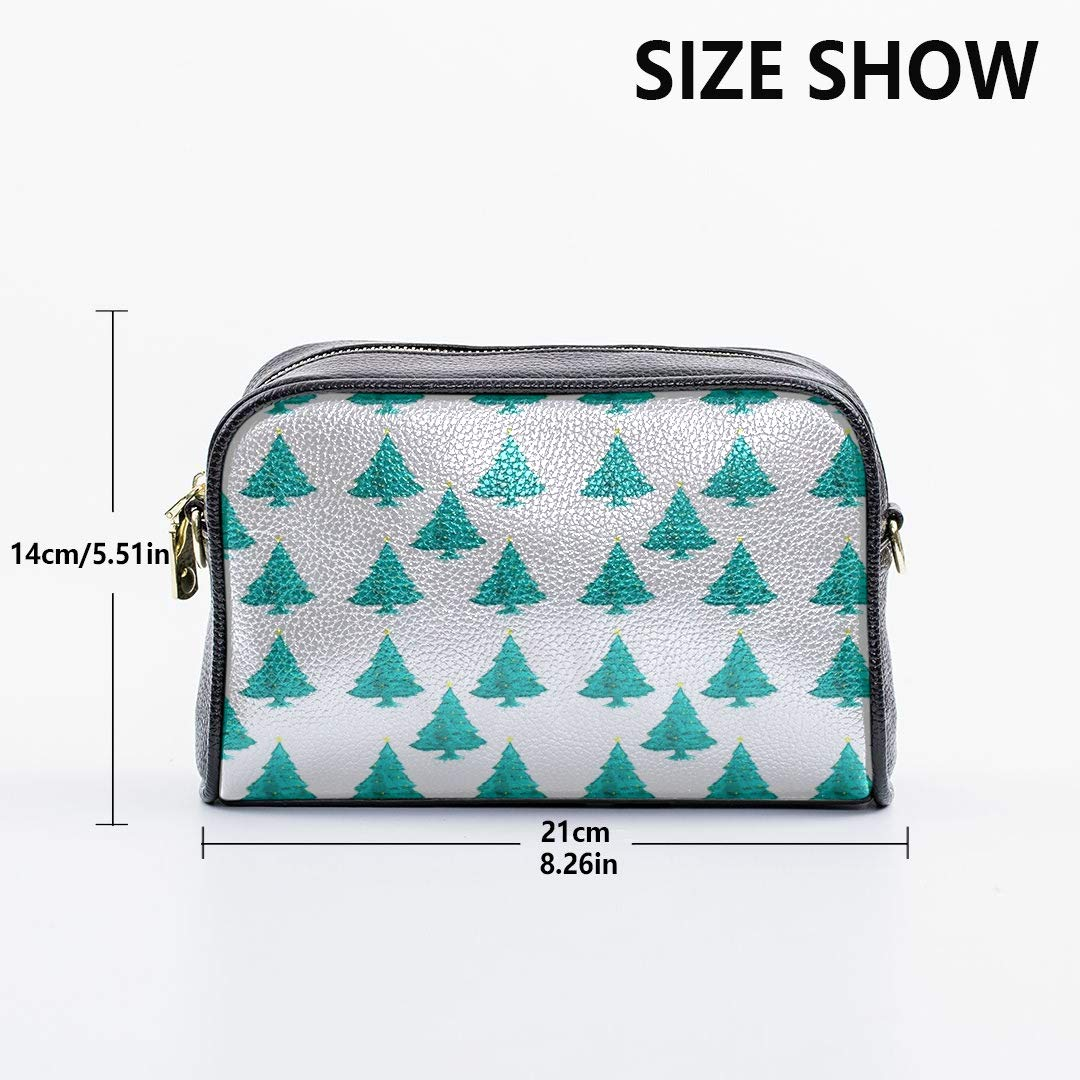 Christmas Tree Set Fashion Design Bag Shoulder Messenger Bag With Adjustable Long Strap Daily Crossbody Bag Cool Shoulder Bag Casual Crossbody Bag