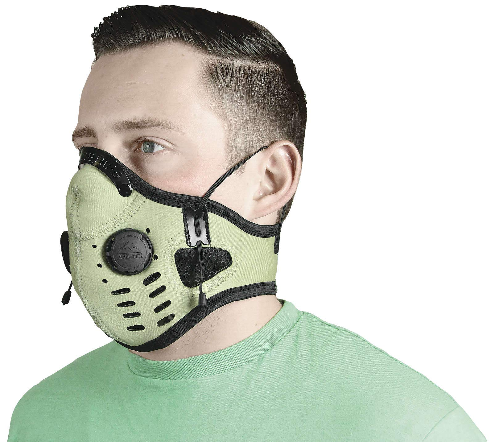 Atv/Utv Tek Elite Neoprene Dust Mask Tan Edmtan New