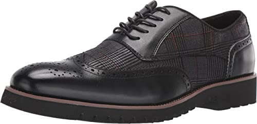 Stacy Adams Mens Baxley Wingtip Lace Up