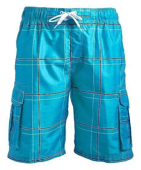 db9230c6e7c032 Amazon.com  Kanu Surf Men s Echelon Swim Trunks (Regular   Extended ...