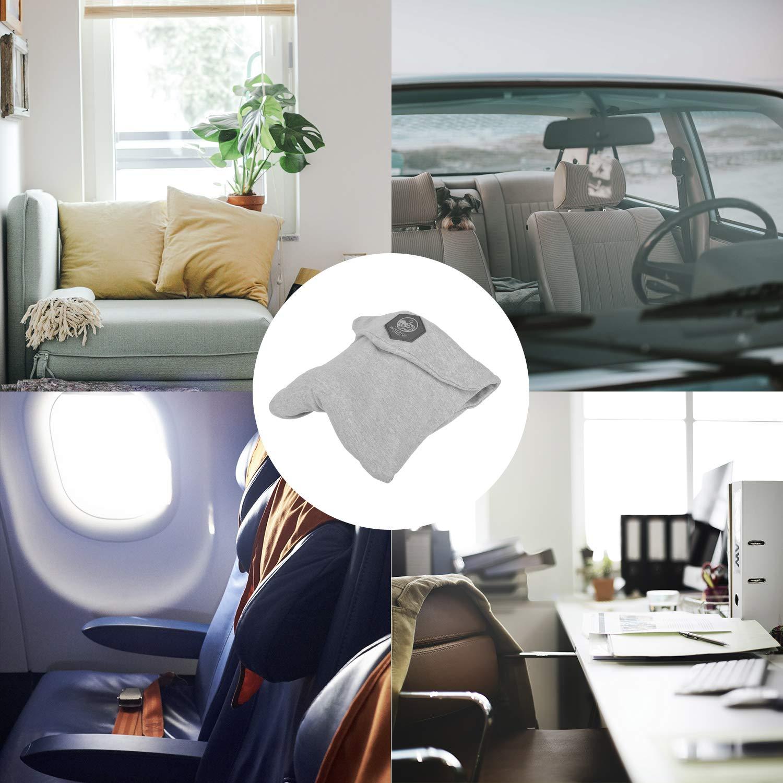 pflegt Ihre Gesundheit Nackenkissen f/ür die Reise Maverick Reisekissen Reise Nackenkissen Nackenh/örnchen Viskoelastisches und Komfortables f/ür das Flugzeug oder das Auto