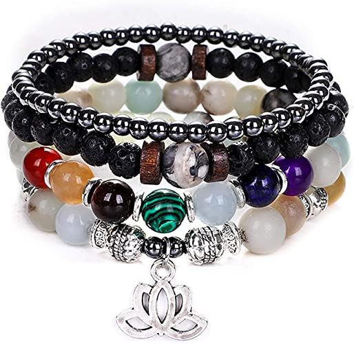 Agate Healing Crystal Bracelet 8mm Gray Agate Bracelet Gray Chakra Bracelet Natural Gray Agate Mala Bracelet Gray Agate Beaded Bracelet