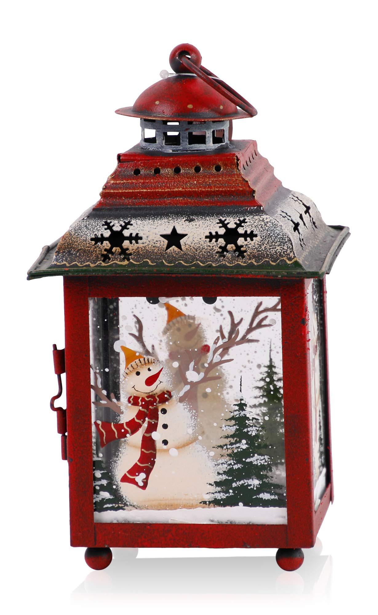 Christmas Paradise Weihnachtslaterne 20 cm Weihnachtsdekoration Weihnachtsstern