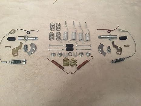 kit di riparazione completo Cherokee XJ 1990/ /2000/fusti 22,9/cm /2000 // Wrangler 1990/ Freni posteriori Carlson