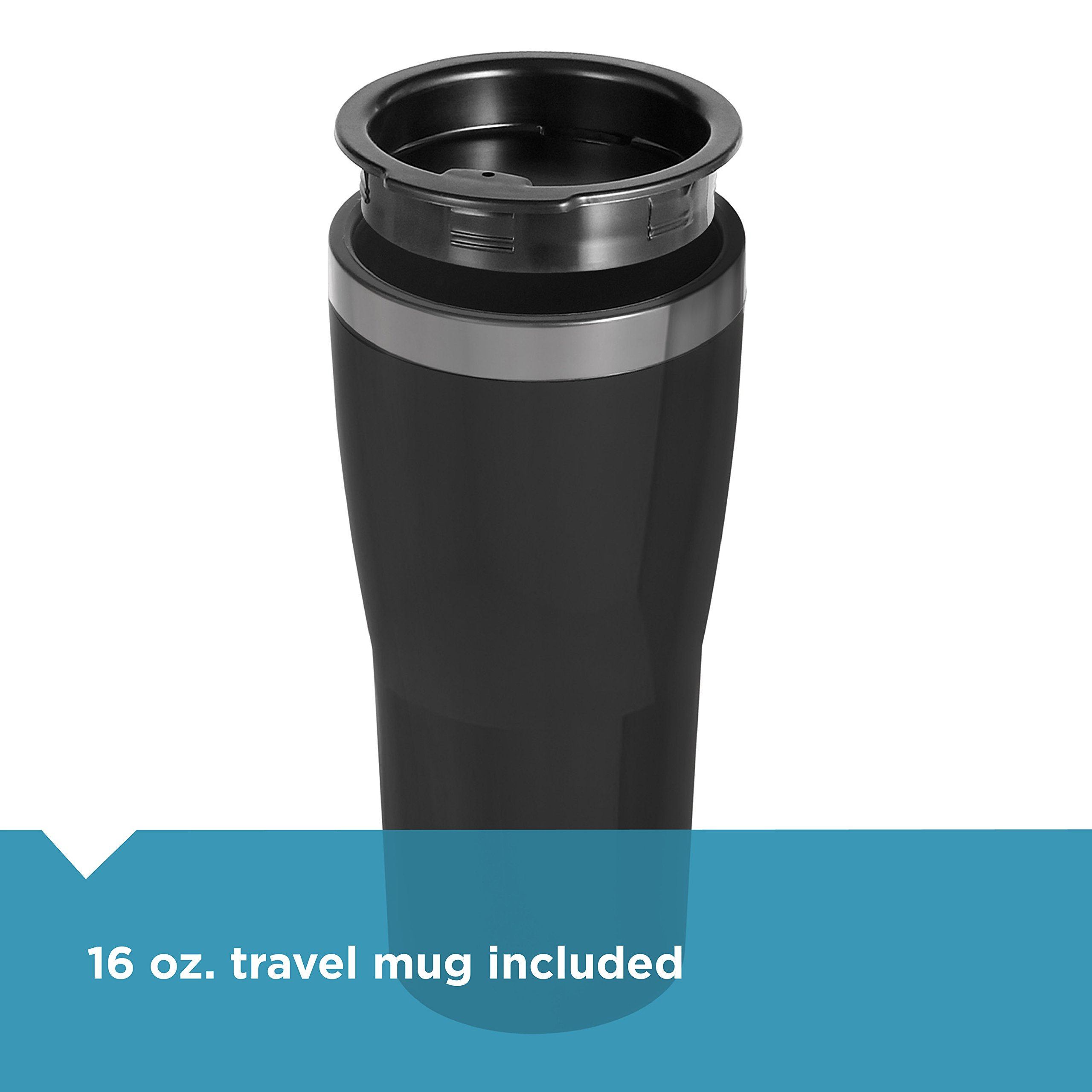 BLACK+DECKER Single Serve Coffeemaker, Black, CM618 by BLACK+DECKER (Image #6)