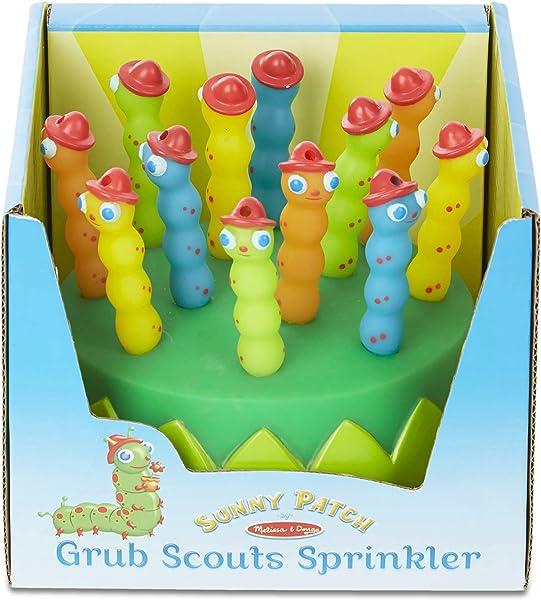 Melissa & Doug Sunny Patch Splash Patrol Sprinkler packaged in the box