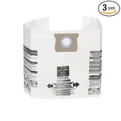 Amazon.com: Bolsas de filtro de polvo para aspiradora de ...