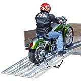 Rage Powersports M-8440 3-Piece Non-Folding Motorcycle Ramp