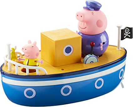 Peppa Pig Grandpa Pig/'s Bathtime Boat *BRAND NEW*