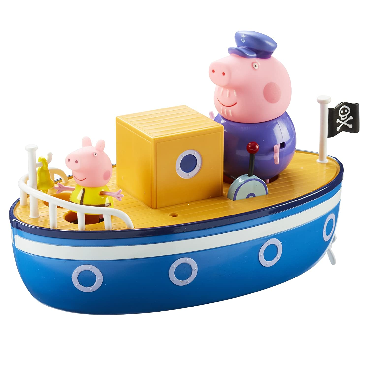 Peppa Pig 05060 Grandpa Pig's Bath Time Boat Character Options