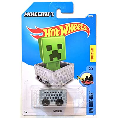 Hot Wheels 2016 HW Ride-Ons Minecraft Minecart 70/250: Toys & Games
