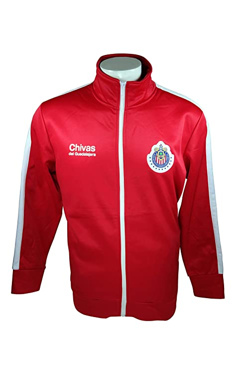 df6b9a130 Chivas De Guadalajara Official License Soccer Track Jacket Football Adult  Size 003 Large