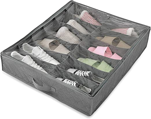 Amazon Com Magicfly Shoe Holder Under Bed Shoe Organizer