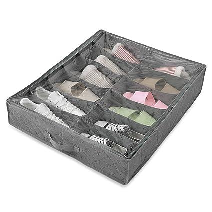 Amazoncom Magicfly Bed Organizer Bag Underbed Shoes Closet Storage
