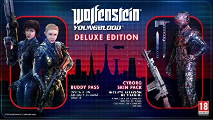 Wolfenstein Youngblood - Edición Deluxe PS4: Amazon.es: Videojuegos