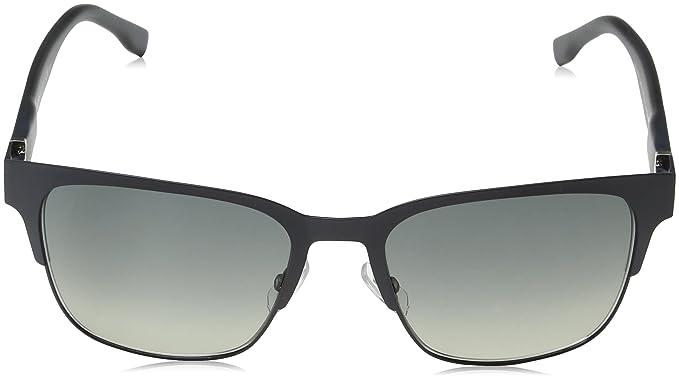 Hugo Boss Herren Sonnenbrille Boss 0809/F/S DX Qna, Blau (Matt Blue/Dk Grey Sf), 57