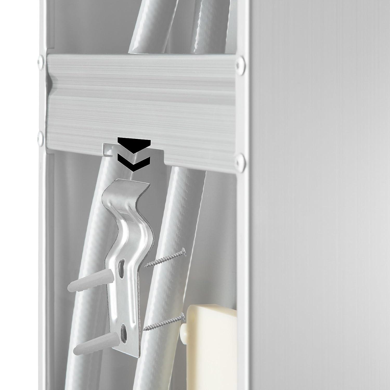 TecTake Panneau de douche avec Cascade et douche effet pluie Buses de massages et Douche manuelle /Éclairage LED