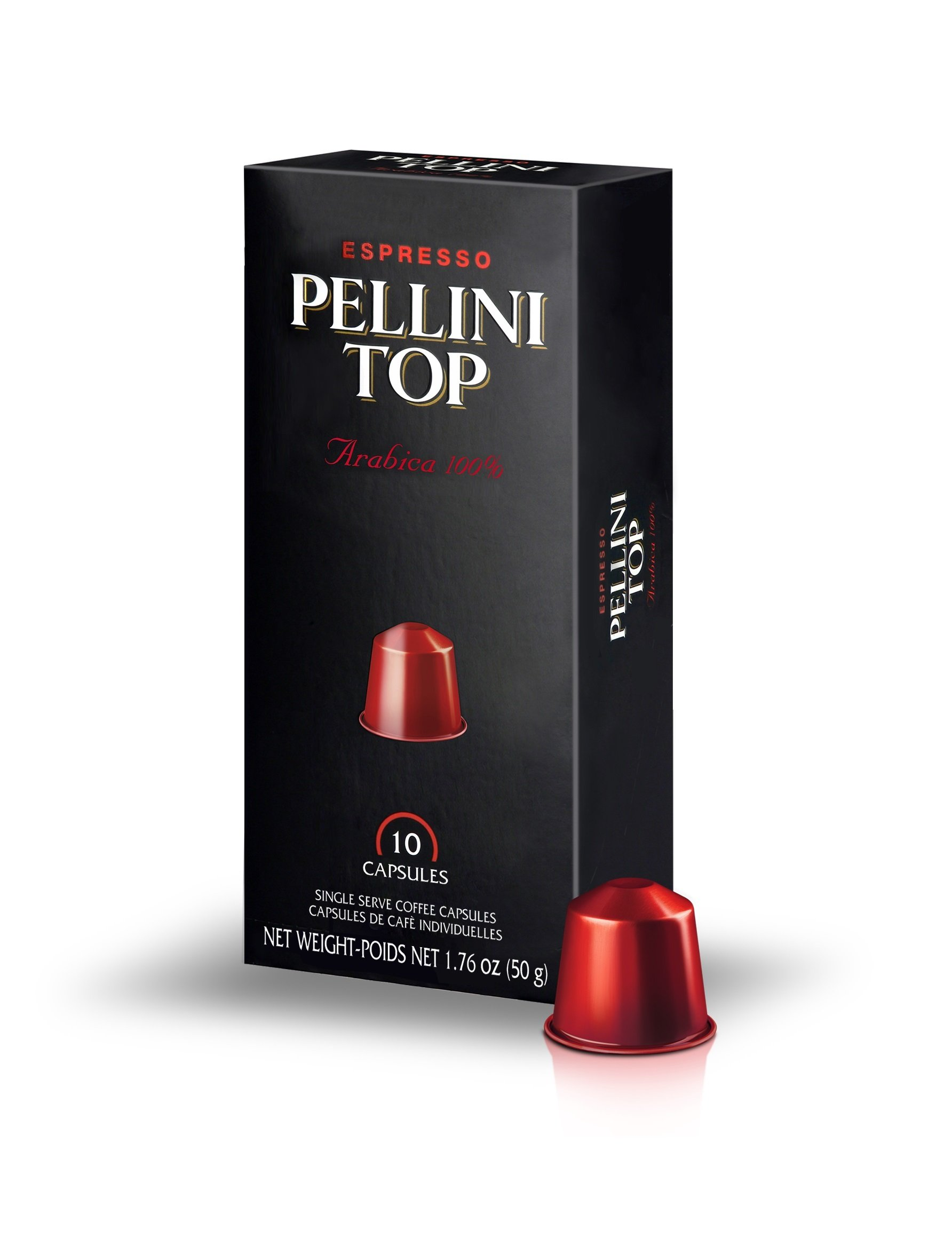 Pellini 100% Arabica Capsules, Top, 0.18 Ounce