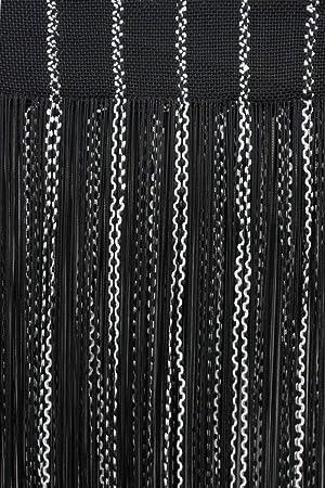 Fadenvorhang Türvorhang Gardine Dekoschal  Fadengardine Raumteiler Spaghetti