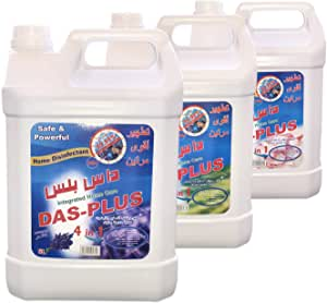 DAS PLUS 5 Ltr Disinfectant Of 3 Variety Fragrance