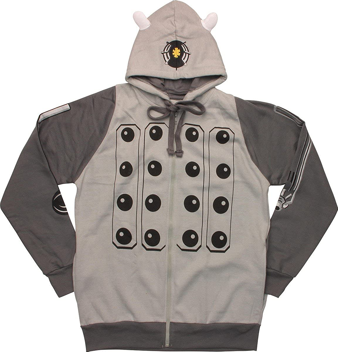 Raleigh Mall Doctor Who Gray Costume Max 82% OFF Hoodie Dalek