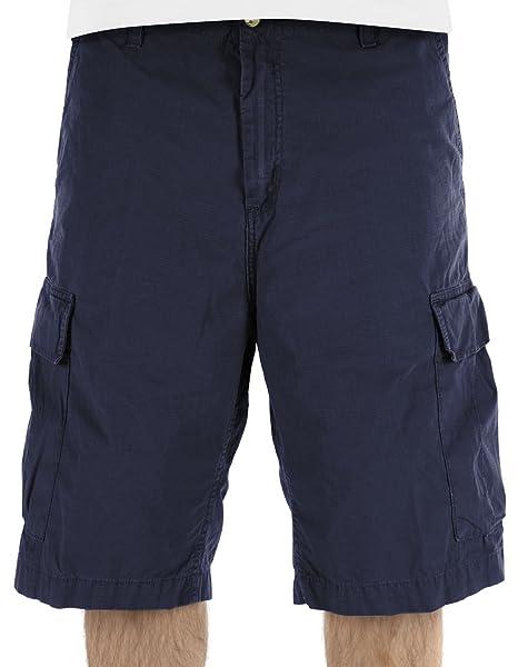 Carhartt Uomo Shorts CH Cargo Blu Navy 40  Amazon.it  Abbigliamento ca83f3d7a26f