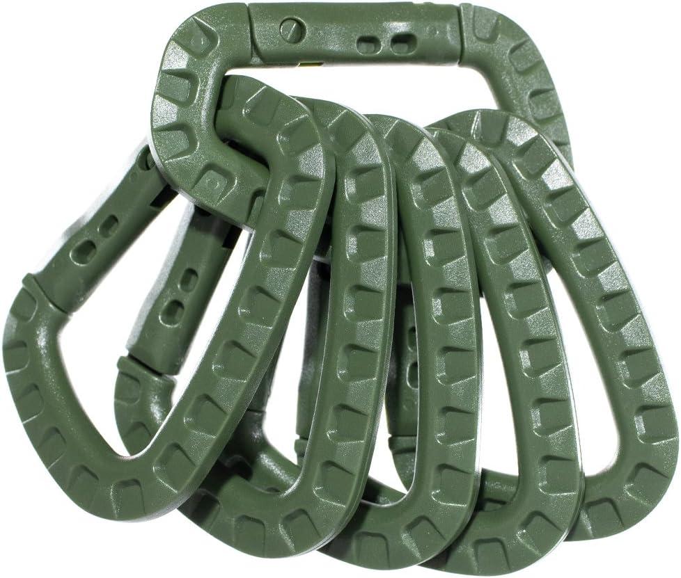 Equipment Keychain Snap Hook Outdoor Carabiner Backpack Buckles D-Type Buckle