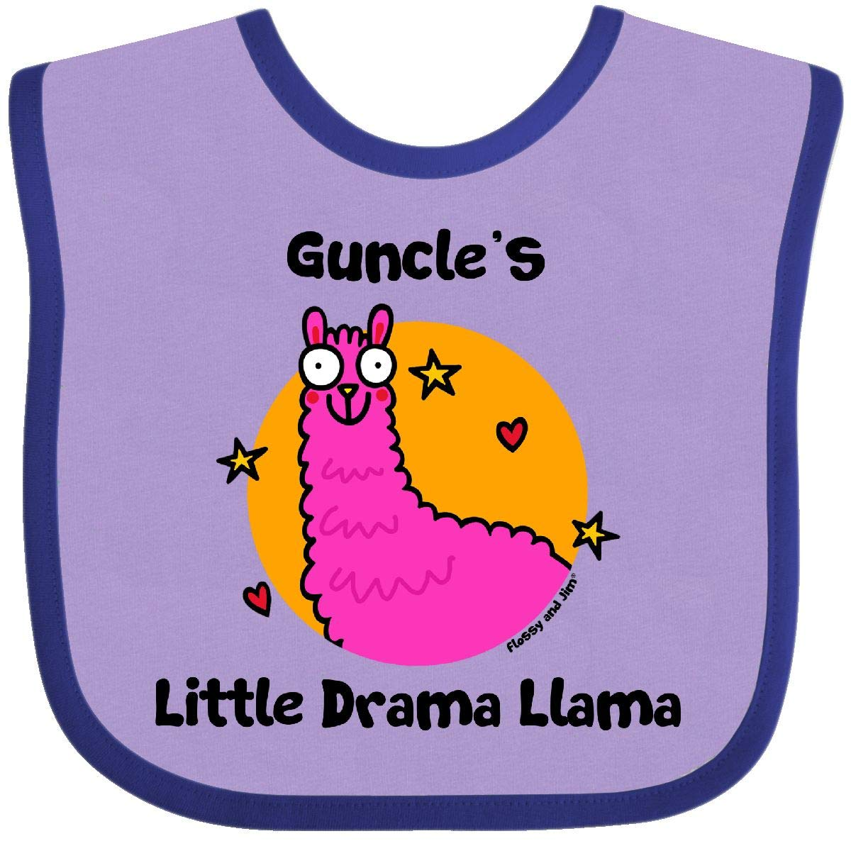 Flossy and Jim inktastic Poppys Little Drama Llama Long Sleeve Creeper