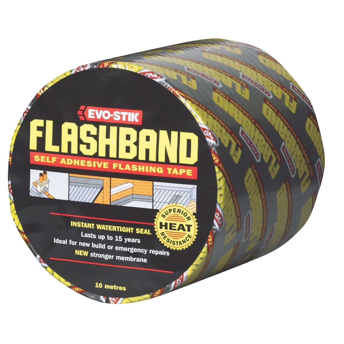 EVO-Stik cinta tapajuntas 150 mm x 10 m Flashband