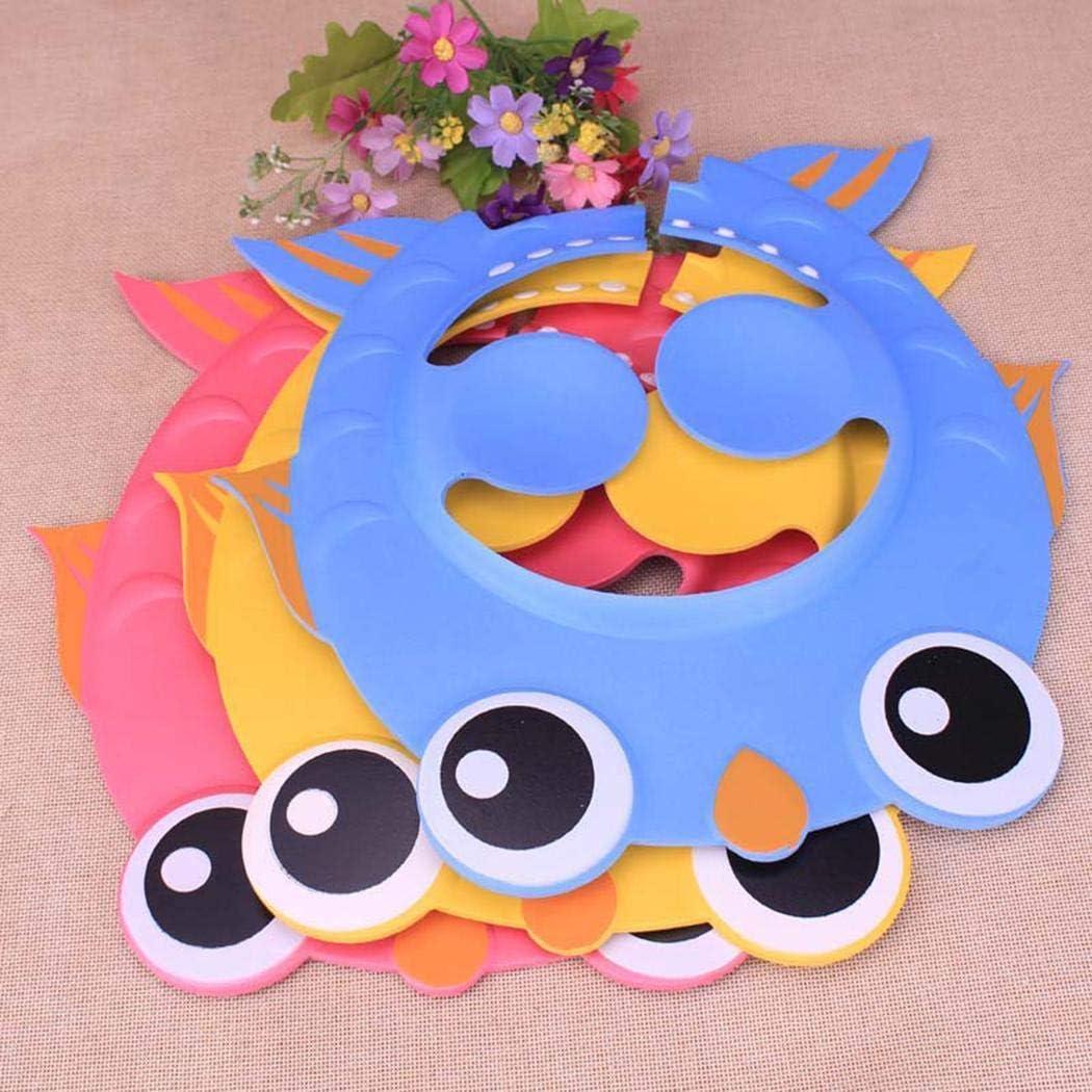 OYTRO New Cute Safe Shampoo Shower Bathing Protect Soft Cap Hat for Baby Children Kids Bubble Bath