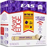 EAS AdvantEDGE Protein Powder Packets, Creamy Vanilla, 60 Count
