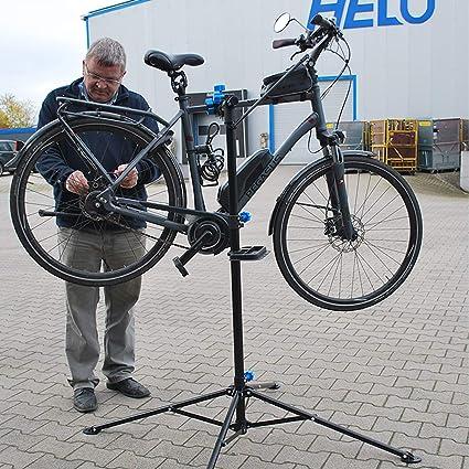 Helo E Bike Montageständer Reparaturständer Ständer Höhenverstellbar Klappbar 60 Kg Baumarkt