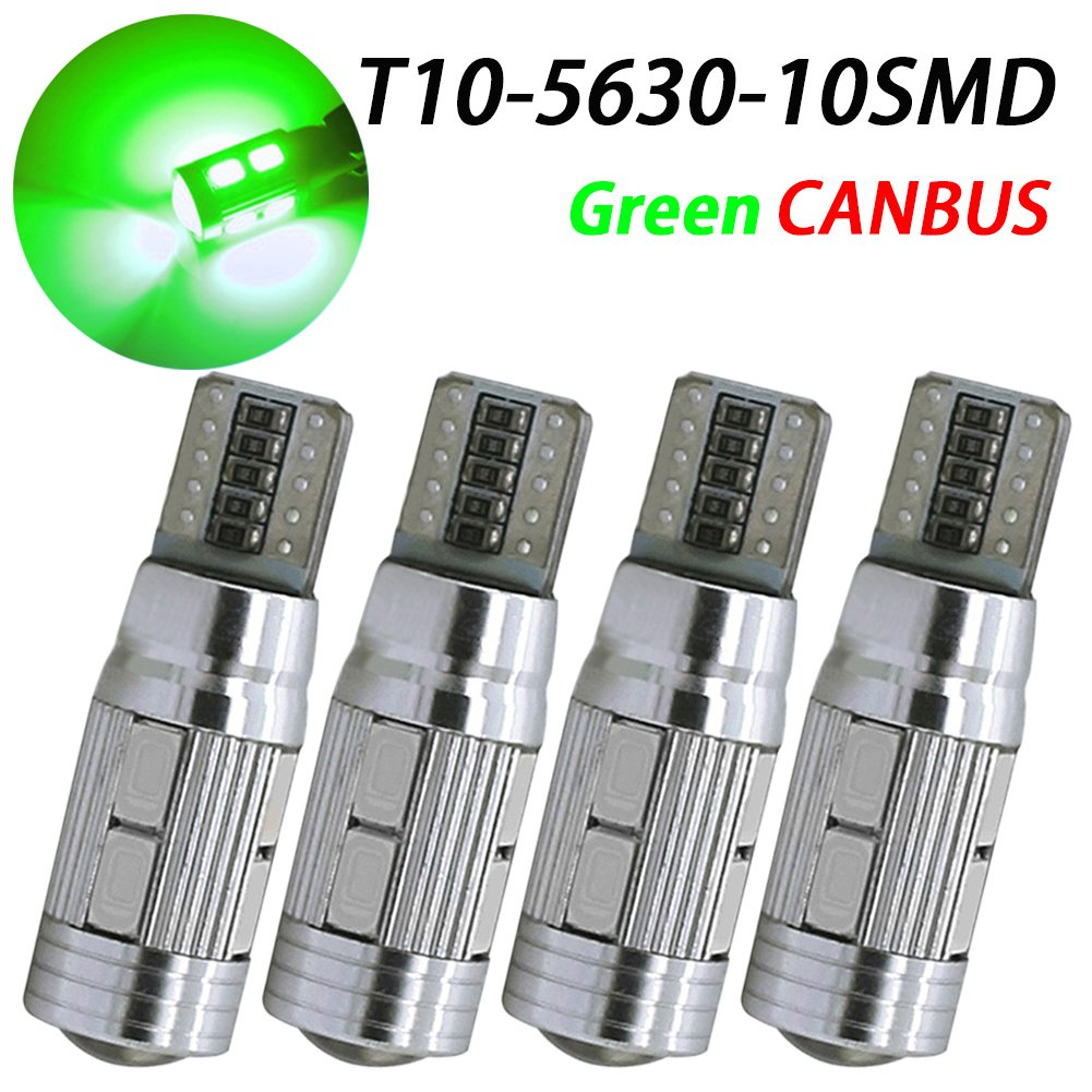 Interior Lights for W5W 194 168 2825 T10 Wedge 10-SMD 5730 Pack of 2 Replacement and Reverse T10 Blue Bulbs CANBUS Error Free T10 LED Light Bulb TABEN 7th Generation Newest