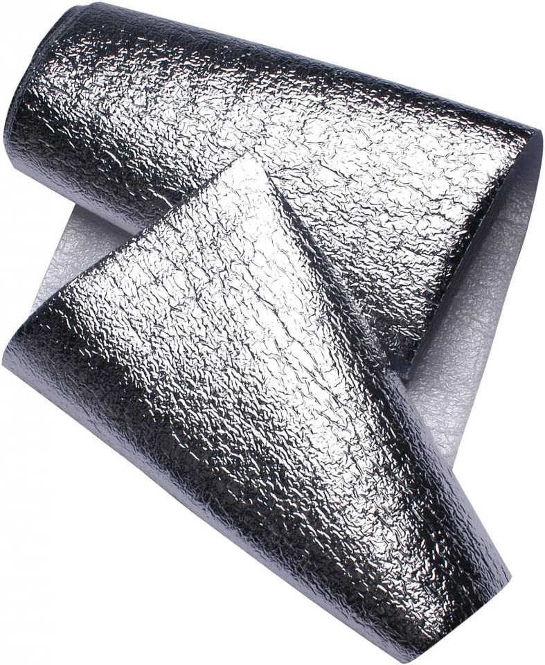 4 Pack Yuzet 60cm x 5m Radiator Heat Reflective Insulating Foil Energy Saving
