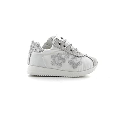 separation shoes 7770b 77832 AVERIS BY BALDUCCI Girls' Trainers White/Silver: Amazon.co ...