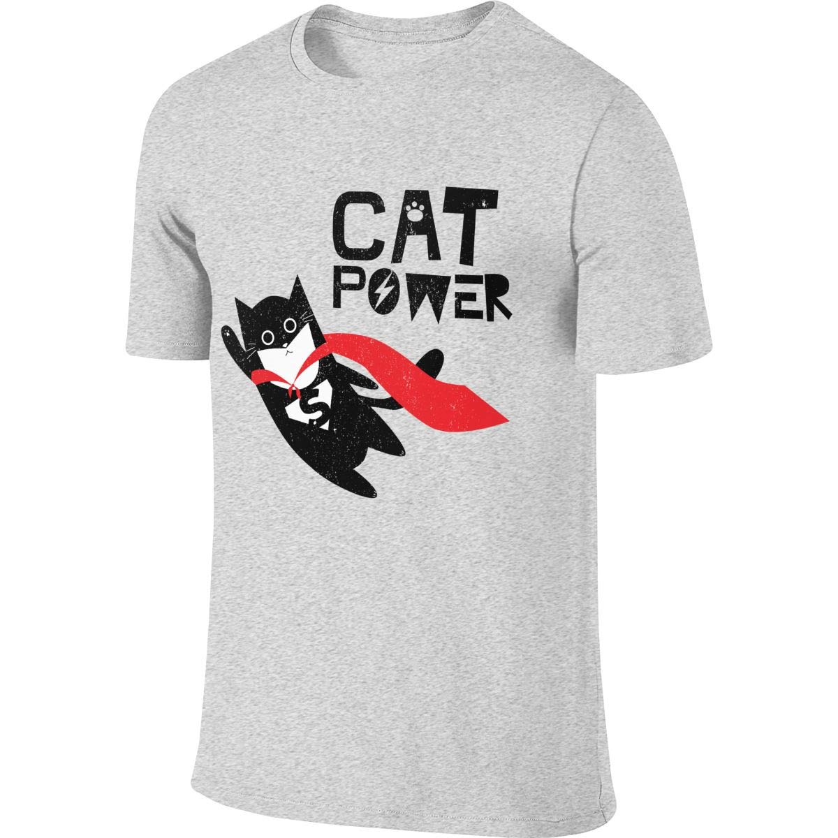 JUDSON Man Personalized Fashion Tee Funny Super Hero Cat T-Shirts