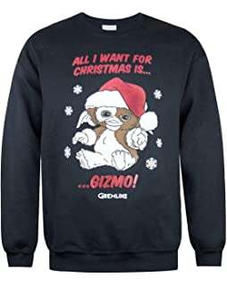 9c374273de Amazon.com  Men s Christmas Mogwai Pattern Green Sweater  Clothing