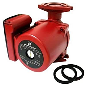 Grundfos SuperBrute Recirculator Pump small RED