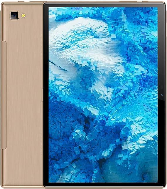 Amazon.com: YESTEL - Tablet Android 10.0 ultrarrápida 5G WI-FI Dual 4G LTE y 10,1 pulgadas y tabletas Octa-Core IPS de 3 GB + 64 GB (ampliación de 128 GB), cámara dual, certificación Google (verificable y más-oro): Computers & Accessories