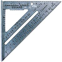 Deals on Swanson Tool Co S0101 7 Inch Speed Square Tile