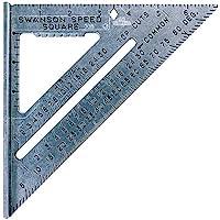 "Swanson Tool S0101 7""Speed Square Layout Tool met Blauw Boek"