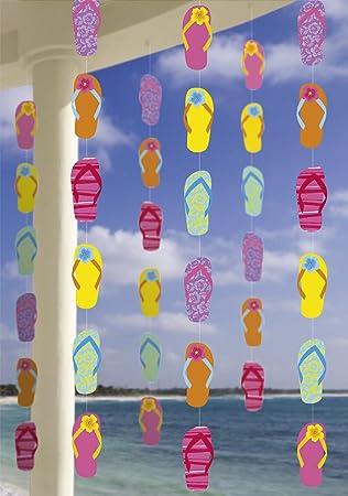 Juego de 6 decoración Techos) * Hawaii * para Fiesta o ...