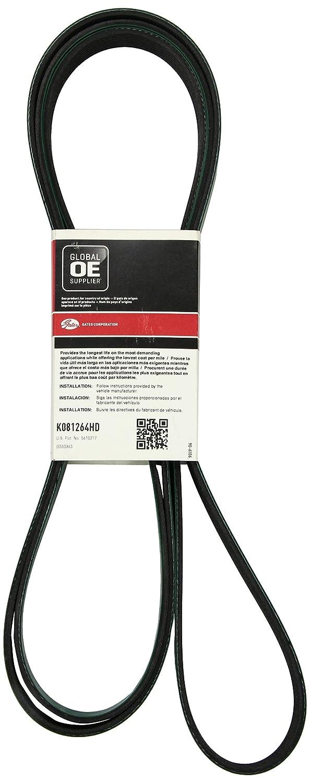 Gates K081264hd Serpentine Belt Fan Automotive 2008 Silverado 1500 Fuel Filter