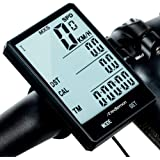Redlemon Velocímetro Digital y Computadora para Bicicleta, a Prueba de Agua (IPX6), con Pantalla LCD Retroiluminada y Funcion