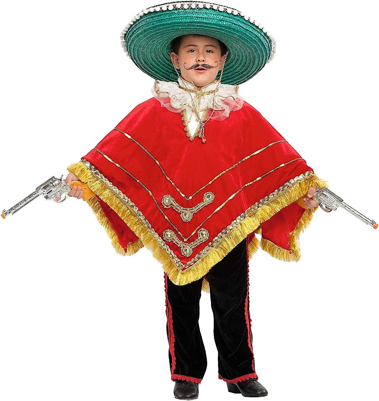 Disfraz Mexicano EN Terciopelo Vestido Fiesta de Carnaval Fancy ...