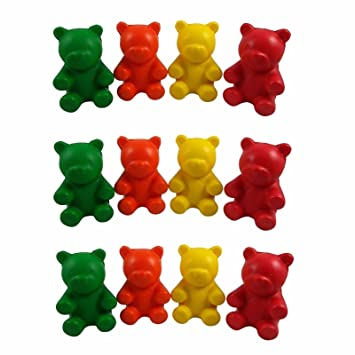 db56602be Buy (12) Gummy Bear Stress Balls for Kids - Autism Aspergers ADHD ADD  Online at Low Prices in India - Amazon.in