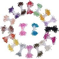 PandaHall Elite 1800 Pcs Gypsum Artificial Flores Núcleo