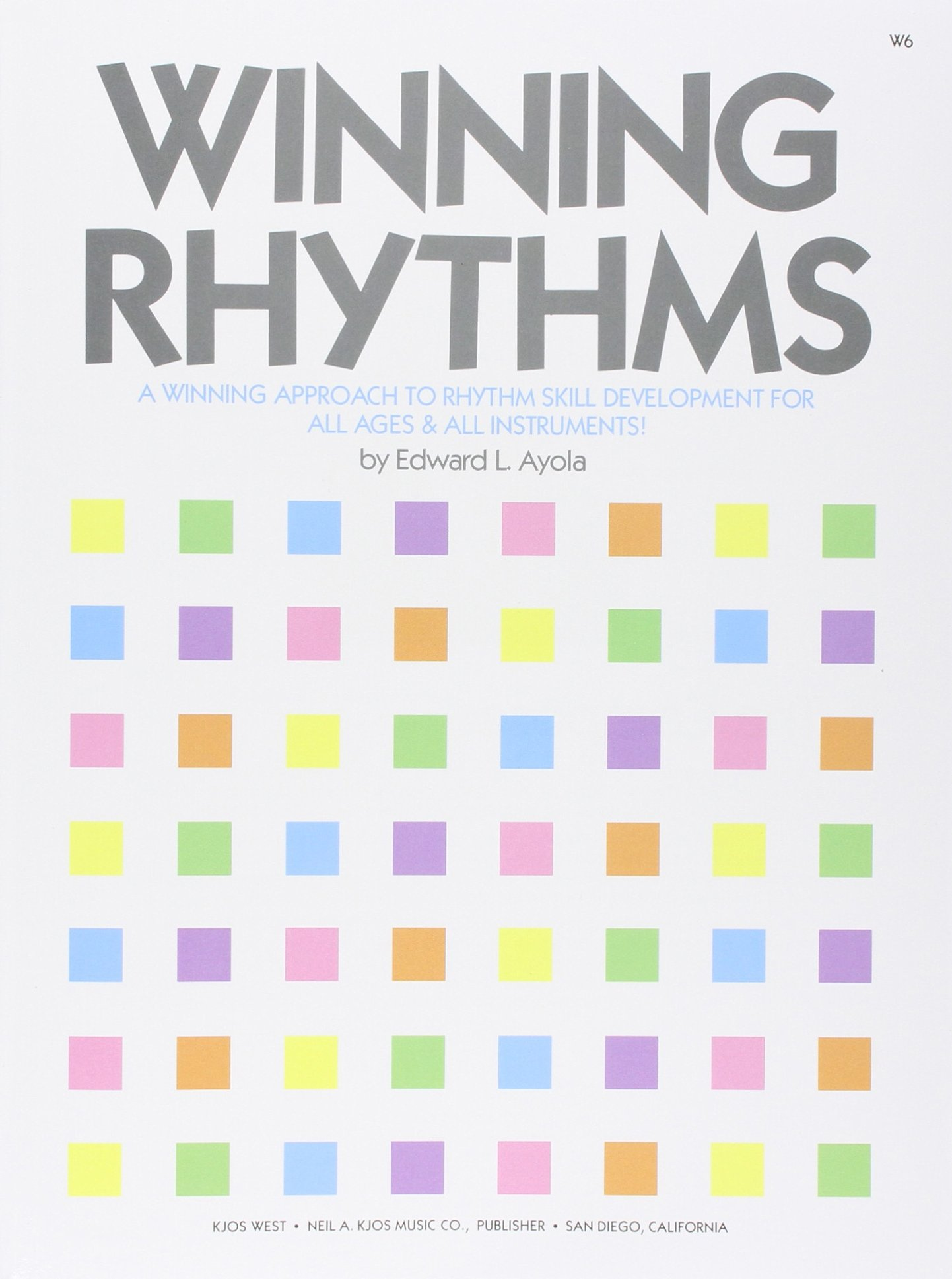 W6 Winning Rhythms Approach Development product image